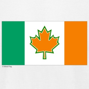 White canada ireland T-Shirts - Men's T-Shirt by American Apparel