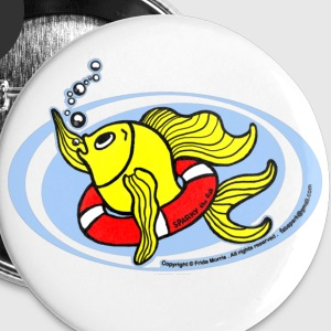 Save The Fish, Help Fish, - Small Buttons