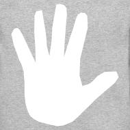 Design ~ Men's Hidden Hand Flex Print Street Style Jumper
