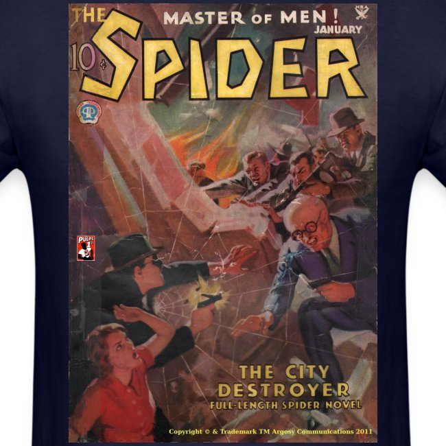 The Spider January 1935