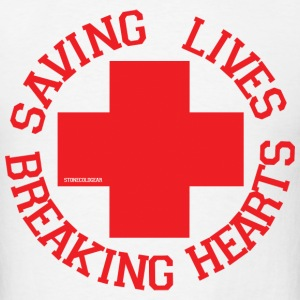 Breaking Hearts T-Shirts - Men's T-Shirt