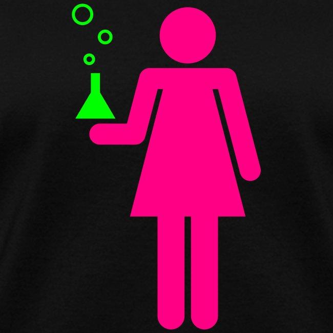 Science Genius Girl Girly Tee