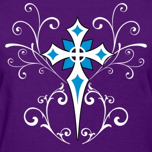 Goth Cross - Women's T-Shirt