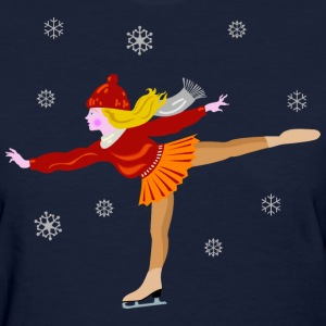 Ice Skating  - Women's T-Shirt