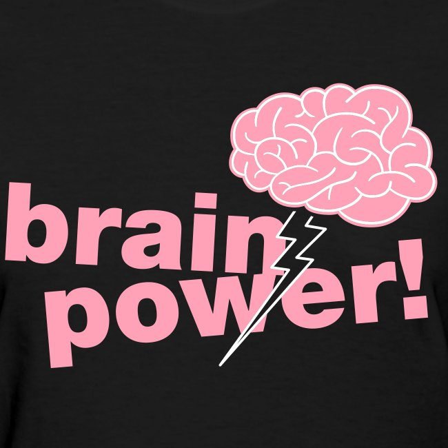 Brainpower Girly Tee