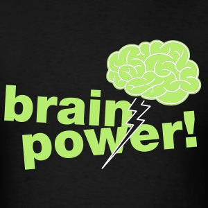 Freezepop- Brainpower Unisex Tee - Men's T-Shirt