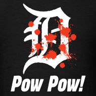 Design ~ Pow Pow Detroit Mens Tee