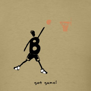 Basketball - got game!` - Men's T-Shirt