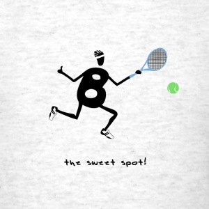 Tennis -the sweet spot! - Men's T-Shirt