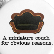 Design ~ Miniature Couch Pins (5 pack)