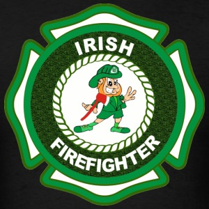 Irish Fire Fighter T-Shirt - Men's T-Shirt