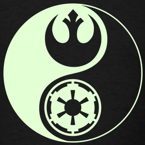 1 Logo - Star Wars - Yin Yang - Glow - Men's T-Shirt