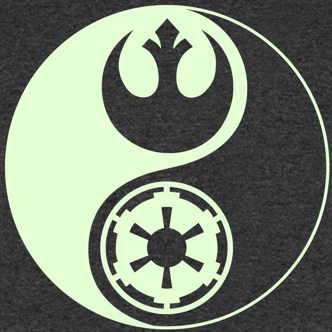 1 Logo - Star Wars - Yin Yang - Glow