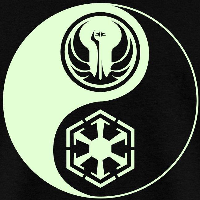 1 Logo - Star Wars The Old Republic - Yin Yang - Glow