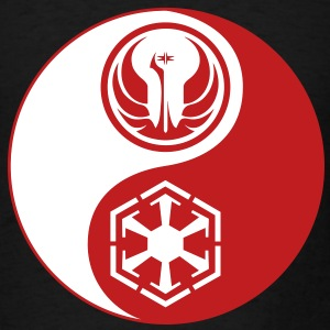 1 Logo - Star Wars The Old Republic - Yin Yang - Men's T-Shirt