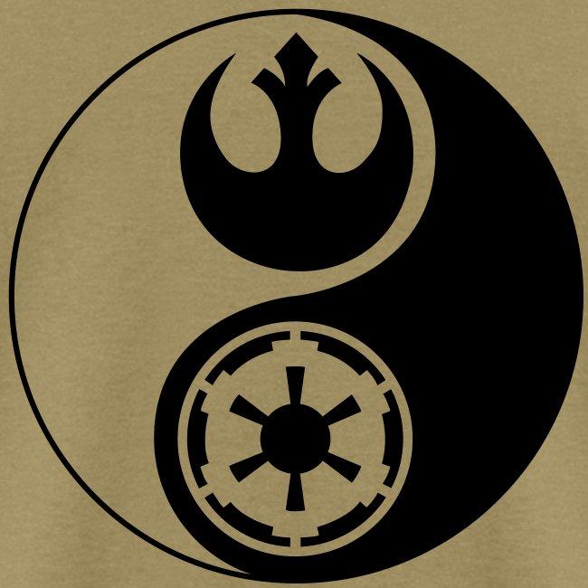 Star Wars Gamerware 1 Logo Star Wars Yin Yang Mens T Shirt