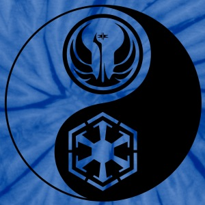 1 Logo - Star Wars The Old Republic - Yin Yang - Unisex Tie Dye T-Shirt