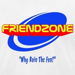 friendzone T-Shirts - Men's T-Shirt by American Apparel