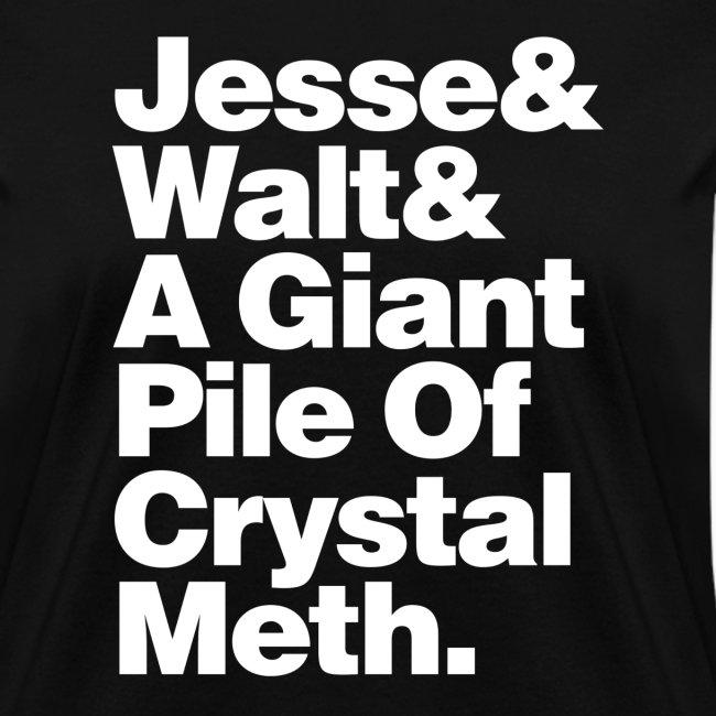 Jesse-Walt-Giant Pile of Crystal Meth
