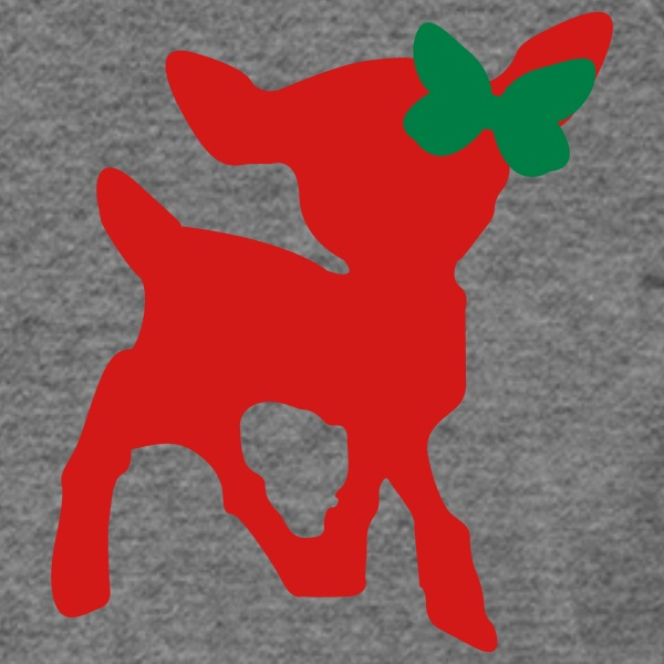 Christmas Deer [friswit] - Women's Wideneck Sweatshirt