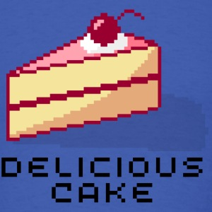 The Cake is Delicious - Men's T-Shirt