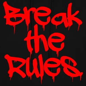 GIRLS Break the Rules Hoodie Red - Women's Hoodie