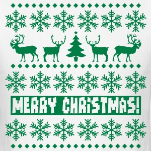 Christmas Caribou T-Shirts - Men's T-Shirt