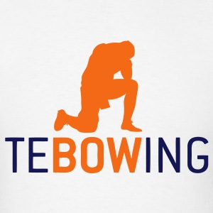 Classic Tebowing White - Men's T-Shirt