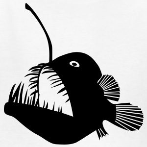 animal t-shirt anglerfish frogfish sea devil deep sea angler monkfish fishing fisherman monster Kids' Shirts - Kids' T-Shirt