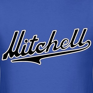 Mitchell lettering - Men's T-Shirt
