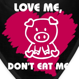 love me dont eat me Caps - Bandana