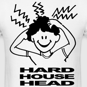 Hard House Music Head T-shirt - Men's T-Shirt