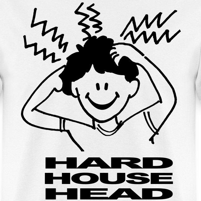 Hard House Music Head T-shirt | Men's T-Shirt