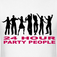 Design ~ 24 Hour Party People T-shirt