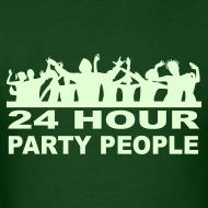 Design ~ 24 Hour Party People Glow in the Dark T-shirt