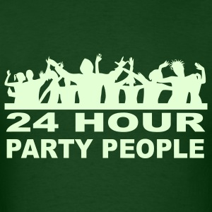 24 Hour Party People Glow in the Dark T-shirt - Men's T-Shirt