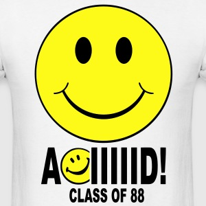 Aciiiid Class of 88 T-shirt - Men's T-Shirt