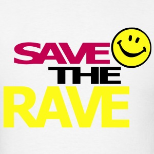 Save the Rave T-shirt - Men's T-Shirt