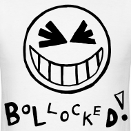 Design ~ Bollocked Smiley Face T-shirt