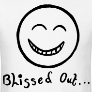 Design ~ Blissed Out Smiley Face T-shirt