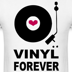 Vinyl Forever Design T-Shirts - Men's T-Shirt