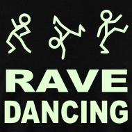 Design ~ Rave Dancing Glow in the Dark T-shirt