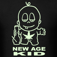Design ~ New Age Dope Kid Glow in the Dark T-shirt