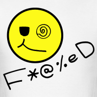 Design ~ Fucked Smiley Face T-shirt