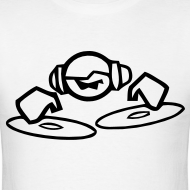 Design ~ DJ Mixing on the decks T-shirt