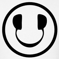 Design ~ Smiley Face Headphone DJ T-shirt