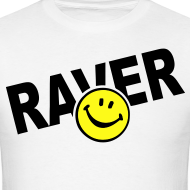 Design ~ Raver Smiley Face T-shirt