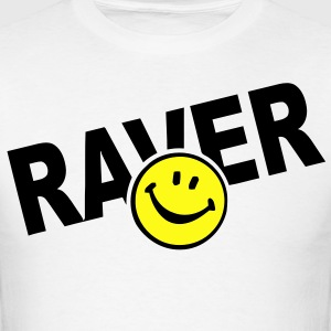 Smiley Face Raver T-Shirts - Men's T-Shirt