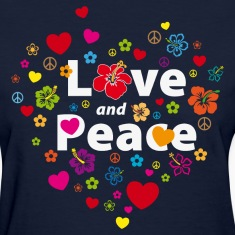 love_and_peace Women's T-Shirts