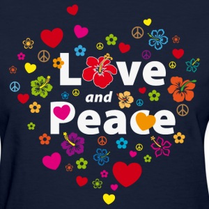 love_and_peace Women's T-Shirts - Women's T-Shirt